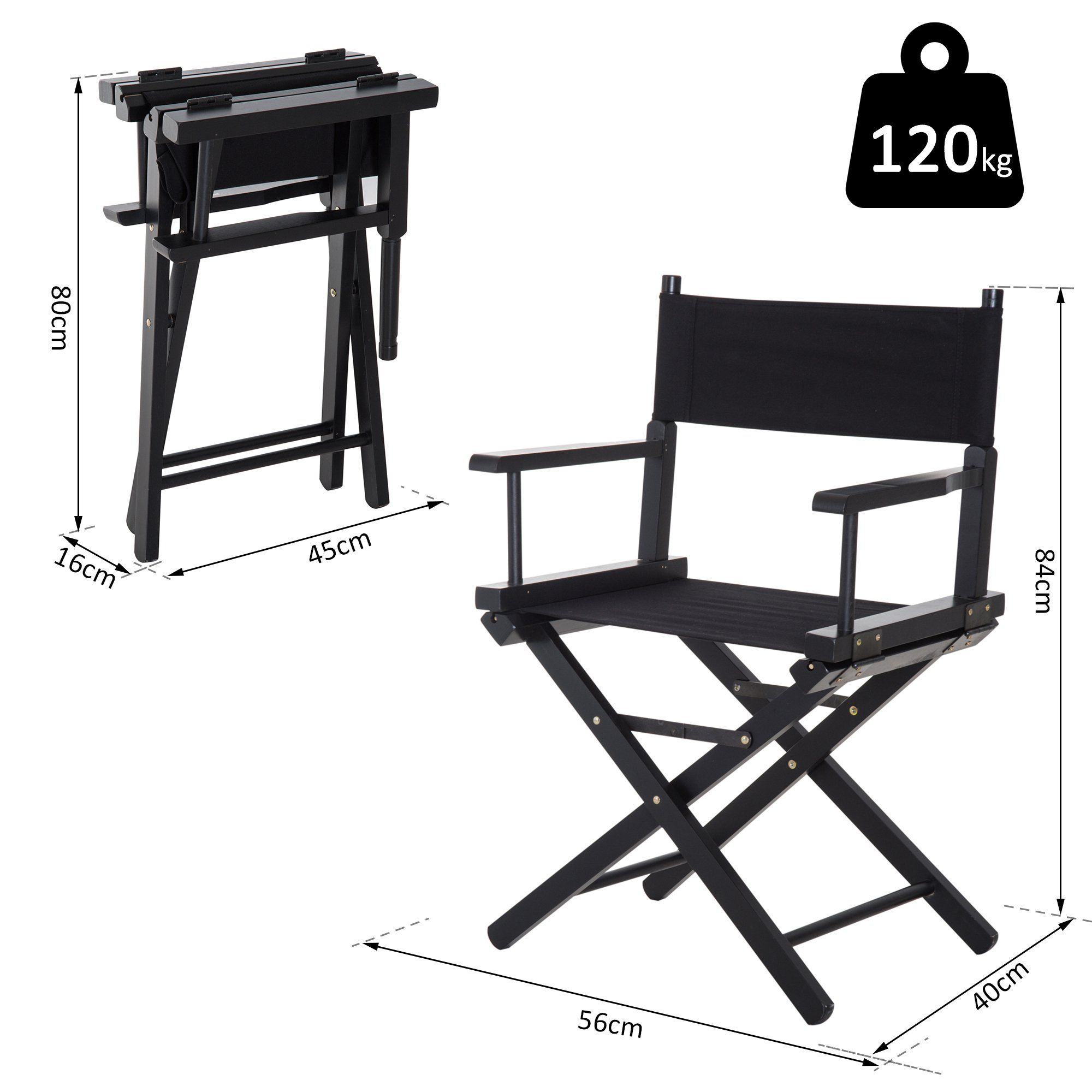 Fundas Sillas Director.Silla De Director Plegable En Madera Para Cine