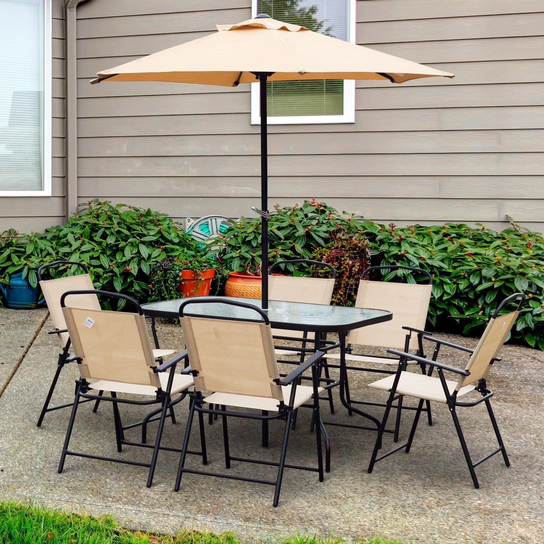 Conjunto de Muebles para Jardín Terraza o Patio de 8 piezas para ...