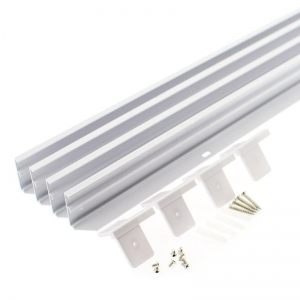 KIT MARCO BLANCO PARA PANEL LED 30X120CM