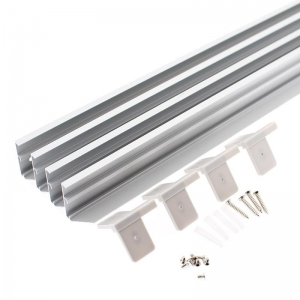 KIT MARCO SILVER PARA PANEL LED 30X120CM