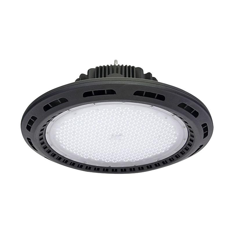 Campana LED Industrial UFO 160W Chip PHILIPS + Driver MEANWELL 0-10V Regulable Blanco Frío