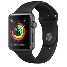 APPLE WATCH S3 (GPS) 38MM CON CAJA ALUMINIO GRIS ESPACIAL Y CORREA DEPORTIVA GRIS - MR352QL/A