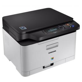 MULTIFUNCION SAMSUNG WIFI LÁSER COLOR SL C480W - 18/4PPM - 2400*600PPP - SCAN 1200PPP - BANDEJA 150