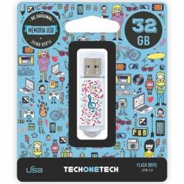 Pendrive TECH ONE TECH Music Dream 32GB