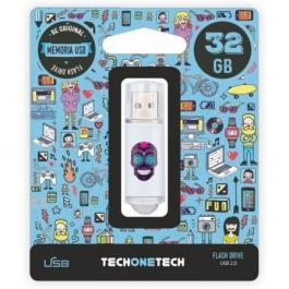 Pendrive TECH ONE TECH Calavera Maya 32GB