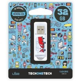 Pendrive TECH ONE TECH CAMPER Van Van 32GB