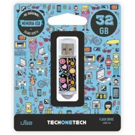 Pendrive TECH ONE TECH Candy Pop 32GB
