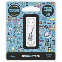 Pendrive TECH ONE TECH CRAZY Black