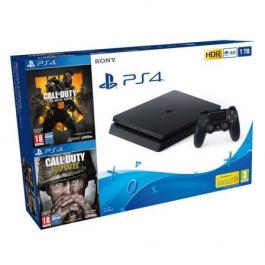 SONY PS4 Slim 1 TB + CALL OF DUTY