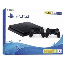 PS4 Slim 500 GB 2 Mandos Inalámbricos