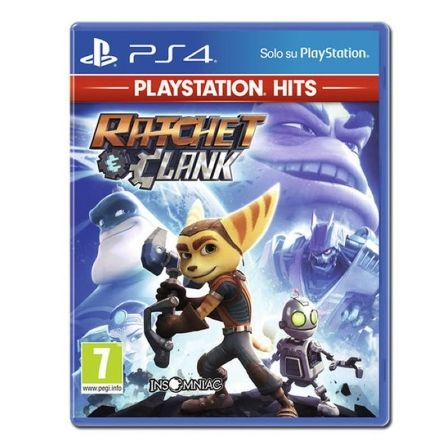 JUEGO PARA CONSOLA SONY PS4 RATCHET CLANK HITS