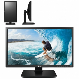 MONITOR LED MULTIMEDIA LG 22MB37PU-B - 22/55CM - 1920x1080 - 250CD/M2 - 5M:1 - 5MS - VGA/DVI-D - US