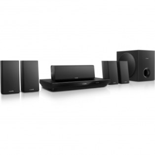 HOME CINEMA 5.1 PHILIPS HTB3520G/12 - 1000W RMS - BLU RAY/DVD/CD - 3D - BT - SMART TV - USB - HDMI