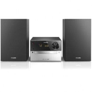 MICROCADENA PHILIPS  MCM2300 - 15W RMS - 2 ALTAVOCES BASS REFLEX - CD - RADIO FM - USB - ENTRADA AUD