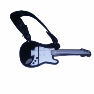 Pendrive TECH ONE TECH GUITARRA Black and White 16 GB